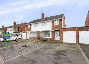 Thumbnail 3 bed semi-detached house for sale in Oakfield Road, Codsall, Wolverhampton