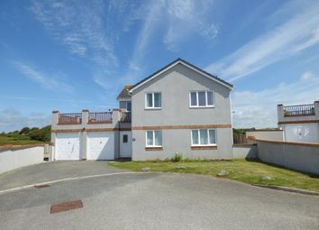 Thumbnail 4 bed detached house for sale in Trearddur Road, Trearddur Bay, Holyhead, Sir Ynys Mon