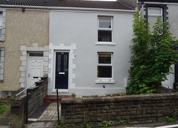 Thumbnail 2 bed terraced house for sale in Vicarage Road, Swansea