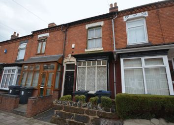 Thumbnail 2 bed terraced house for sale in Hillfield Road, Sparkhill, Birmingham