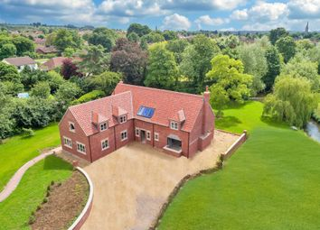 Thumbnail 5 bedroom detached house for sale in Waterside Drive, Grantham