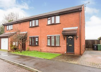 Thumbnail 2 bed semi-detached house for sale in Withington Close, Northwich, Cheshire