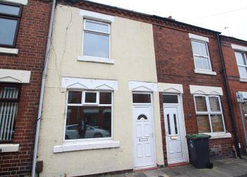 Thumbnail 2 bed terraced house for sale in Birks Street, Stoke, Stoke-On-Trent