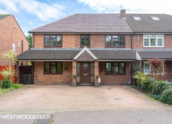 Thumbnail 6 bed semi-detached house for sale in Ashbourne Road, Broxbourne