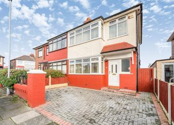 Thumbnail 3 bed semi-detached house for sale in Fairhaven Road, Widnes, Cheshire