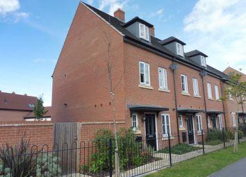 Thumbnail 3 bedroom end terrace house for sale in Coleridge Way, Oakham
