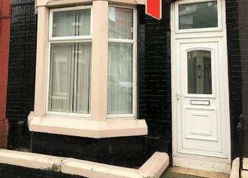Thumbnail 3 bed terraced house to rent in Hornsey Road, Liverpool, Merseyside