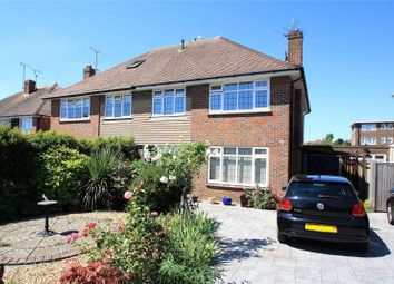 Thumbnail 3 bed semi-detached house for sale in Alinora Avenue, Goring-By-Sea, Worthing