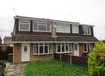 Thumbnail 3 bed semi-detached house for sale in Otterburn Close, Moreton, Wirral