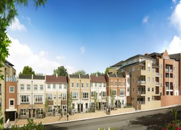 Thumbnail 4 bed town house for sale in Flambard Way, Godalming, Surrey
