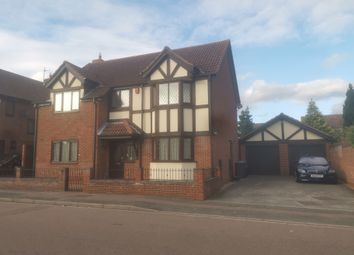 Thumbnail 4 bed detached house to rent in Naylor Avenue, Bedford
