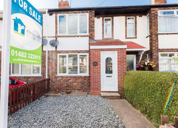 Thumbnail 3 bed terraced house for sale in Coronation Road South, Hull