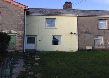 Thumbnail 2 bed terraced house to rent in Central Treviscoe, St. Austell