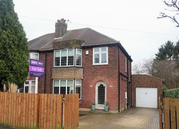 Thumbnail 2 bed semi-detached house for sale in Carr Manor Parade, Moortown