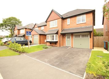 Thumbnail 4 bedroom detached house for sale in Derby Road, Wesham, Preston