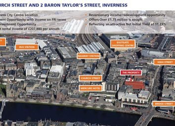 Thumbnail Retail premises for sale in Baron Taylor Street, Inverness