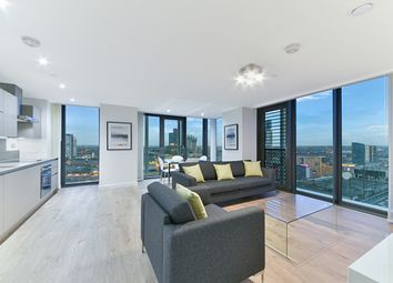 Thumbnail 2 bed flat to rent in Stratosphere Tower, Great Eastern Road, Stratford