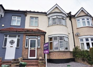 Thumbnail 3 bed terraced house for sale in Montacute Road, London