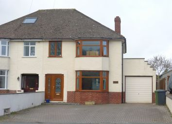 Thumbnail 3 bed semi-detached house for sale in Ledbury Road, Hereford