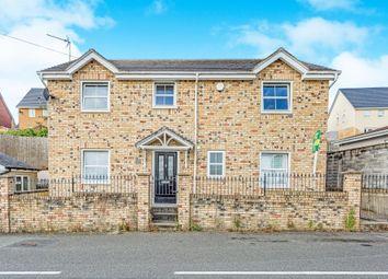 Thumbnail 4 bed detached house for sale in Cefn Glas Road, Bridgend