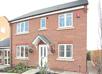 "Thumbnail 4 bed detached house for sale in ""The Cherryburn"" at Grange Lane South, Scunthorpe"