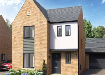 Thumbnail 3 bed detached house for sale in Belland Hill, Eynesbury, St. Neots