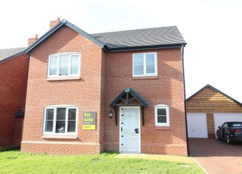 Thumbnail 4 bed detached house for sale in Plot 5 Phase II Hopton Park, Nesscliffe, Shrewsbury