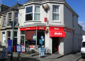 Thumbnail Retail premises for sale in Plymouth, Devon