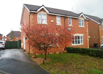 Thumbnail 3 bed semi-detached house for sale in Baker Close, The Parks, Crewe, Cheshire