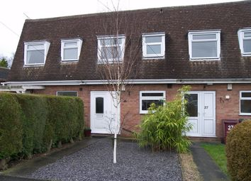 Thumbnail 2 bed terraced house to rent in Fernwood Close, Shirland, Alfreton, Derbyshire