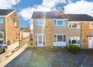 Thumbnail 3 bed semi-detached house for sale in St Albans Close, Kettering