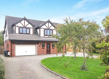 Thumbnail 4 bed detached house to rent in Croxton Lane, Middlewich