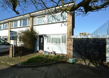 Thumbnail 3 bed end terrace house for sale in Burn Close, Addlestone, Surrey