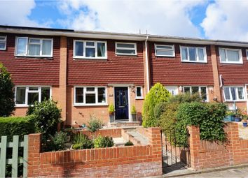 Thumbnail 3 bed terraced house for sale in Cargate Avenue, Aldershot