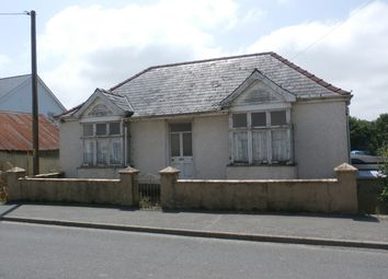 Thumbnail 3 bed detached house for sale in Newcastle Emlyn, Ceredigion