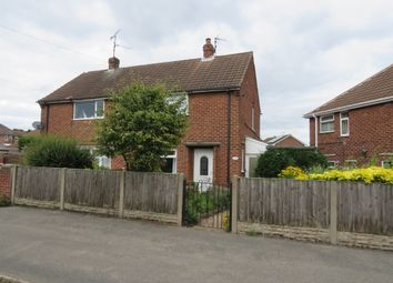 Thumbnail 2 bed semi-detached house for sale in Cedar Avenue, Mansfield Woodhouse, Mansfield