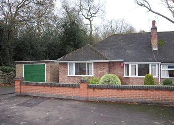 Thumbnail 2 bedroom semi-detached bungalow to rent in St. Bernards Road, Whitwick, Coalville