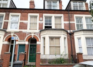 Thumbnail 4 bed town house to rent in St Albans Road, Leicester