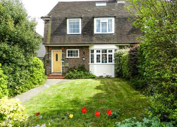 Thumbnail 4 bed semi-detached house for sale in Ruden Way, Ewell, Epsom