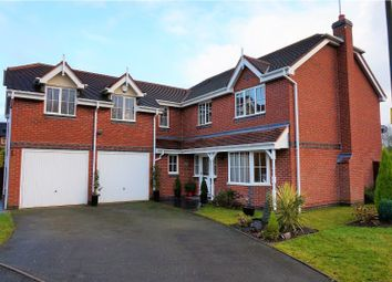 Thumbnail 5 bed detached house for sale in Kingfisher Drive, Colwich, Stafford