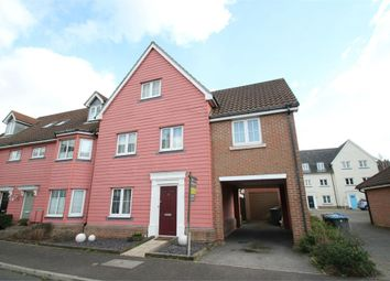 Thumbnail 4 bed end terrace house for sale in Meadow Crescent, Purdis Farm, Ipswich, Suffolk