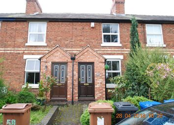 Thumbnail 2 bed terraced house to rent in Chesterfield Road, Lichfield