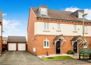 Thumbnail 4 bed semi-detached house for sale in Thomas Penson Road, Gobowen, Oswestry