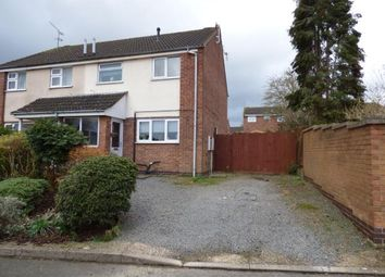 Thumbnail 3 bed semi-detached house for sale in Carbery Close, Oadby, Leicester, Leicestershire