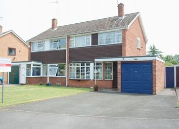 Thumbnail 3 bed semi-detached house for sale in Sherwell Drive, Alcester