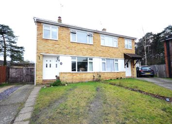Thumbnail 3 bed semi-detached house for sale in Doreen Close, Farnborough, Hampshire