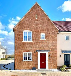 Thumbnail 3 bed end terrace house for sale in Bayley Road, Alconbury Weald, Huntingdon.