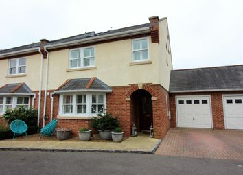 Thumbnail 4 bed end terrace house for sale in Hidden Close, Off Langton Road, West Molesey