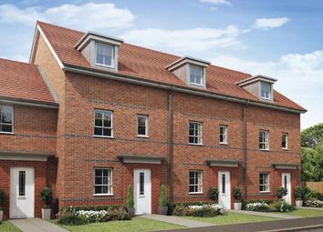 """Thumbnail 4 bed terraced house for sale in """"Woodcote"""" at Burney Drive, Wavendon"""