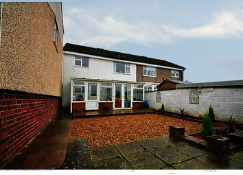 Thumbnail 3 bed semi-detached house for sale in Dovedale Close, Stoke-On-Trent, Staffordshire